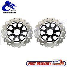 Wave 2PCS Front Brake Disc Rotor For Kawasaki GTR 1000 ZG1000 E098 1994-2006 NEW