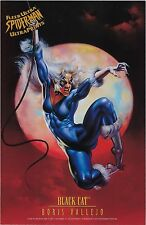 1995 Fleer Ultra SPIDER-MAN cards ULTRA PRINTS - BLACK CAT.