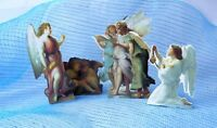 Standup Angel Decor Die Cut Cardboard By Ania Mochlinska 2 Sided Mixed Lot Of 4