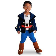 The Disney Store Captain Jake Costume Size 2 Jake And The Never land Pirates