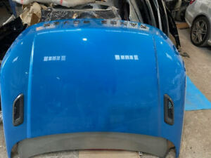 LAND ROVER RANGE ROVER EVOQUE 2011-2018 BONNET WITH VENTS IN BLUE