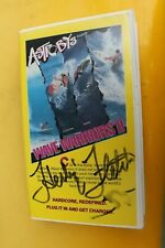 WAVE WARRIORS ASTRO BOYZ Herbie Fletcher Autographed Rare Surfing VHS Movie
