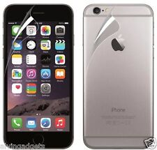Ultra Clear Anti-Scratch Front & Back Screen Protector For Apple iPhone 6