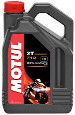 Motul 710 2T 100% Synthetic 4 Litre