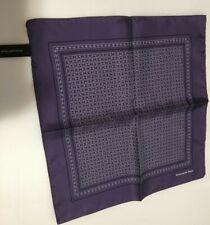 NEW! Ermenegildo Zegna Men's Handkerchief Pocket Square 100% Silk