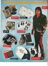 MICHAEL JACKSON merchandise  magazine PHOTO / Pin Up / Poster 11x8""