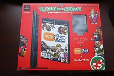 Playstation 2 Slim Black Console Eye Toy Pack boxed Japan PS2 System US Seller