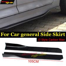 Fits For BMW E63 Side Skirts Carbon Fiber E63 645ci 650ci 650i Side Skirts 105cm