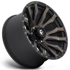 20x9 Fuel Wheels D674 Blitz 6x13500 Matte Black Double Dark Tint 1 S41 Fits Nissan Titan