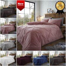 Teddy Bear Fleece Duvet Cover Set CHISWICK Thermal Warm Soft Bedding Pillowcases