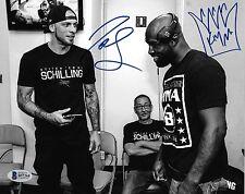 Joe Schilling King Mo Signed 8x10 Photo BAS Beckett COA Bellator MMA Kickboxing