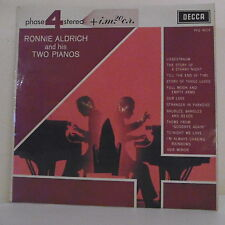 """33T Ronnie ALDRICH and his TWO PIANOS Disque LP 12"""" PHASE 4 STEREO - DECCA 4019"""