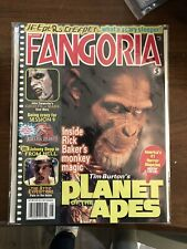 FANGORIA # 205 MAGAZINE HORROR PLANET OF THE APES GHOSTS OF MARS SESSION 9