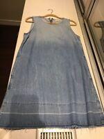 NWOT Women's Bella Dahl Denim Dress, Size M