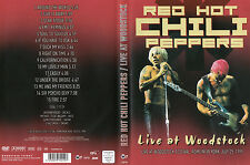 Red Hot Chili Peppers-DVD-live in Woodstock 1999-DVD di 2008 -!!!!!