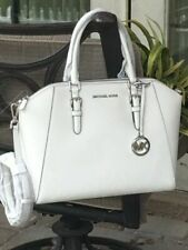 Michael Kors Ciara Cross Body Bag, Size Large - Optic White