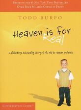 Brand New Heaven Is For Real Conversation Guide by Todd Burpo Paperback