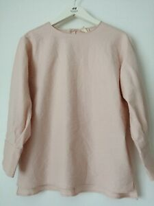 Zara Join Life Power Pink blouse Size M