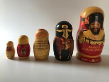 YaKov Smirnoff, Vintage 1980's, Russian Nesting Dolls, Stand Up Comedian, 6.5�