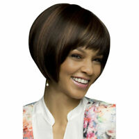 Short Bob Hair Wigs Straight Synthetic Wig Cosplay Daily Cosplay Party Soft Wig