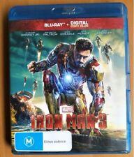 IRON MAN 3 blu-ray REGION B robert downey jr MARVEL COMICS avengers