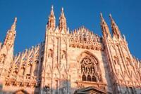 Duomo di Milano Milan Cathedral Milan Italy Photo Art Print Poster 24x36 inch