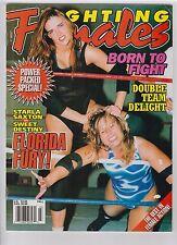 Fighting Females magazine Fall 1999 wrestling boxing