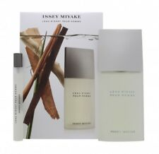 ISSEY MIYAKE L'EAU D'ISSEY POUR HOMME GIFT SET 75ML EDT + 10 EDT - MEN'S. NEW