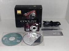 Nikon COOLPIX L24 14.0MP Digital Camera - Black