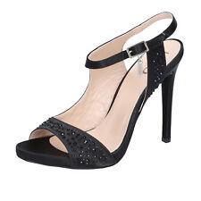 Sandalo Donna Liu Jo Aura S16037t0380 in Raso applicazioni Nero 36 004be3788b9