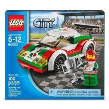 Lego City / Town RACE CAR 60053 Minifigure Racing 100 pcs. Factory Sealed