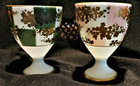 VINTAGE SET OF 2 TEA WINE CUPS KORANSHA PORCELAIN