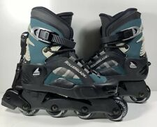 Men's Black Roller Blades, Size 8-8.5 Cool Blade 80mm Max Wheel Lateral Adjust