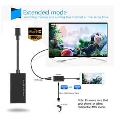 Micro USB to HDMI Adapter MHL Converter TV Monitor HD 1080P Audio Video Cable