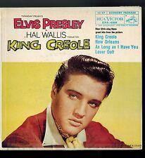 CANADA GREY LABEL EPA 4319 1958 P SLEEVE 45 RPM ELVIS PRESLEY KING CREOLE VOL 1