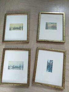 Four Vintage Prints Italy Cadore