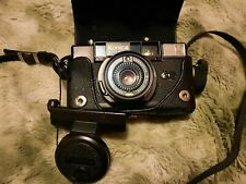 Beautiful Japanese Konica C35 AF2 Hexanon 38mm f/2.8 Rare W/Case