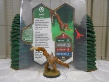 Heroscape Custom Sabre Double Sided Card & Figure w/ Sleeve Ullar