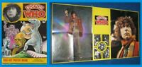 RARE: 1974 Tom Baker Doctor Who poster magazine. VGC. % to charity do!