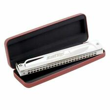 Easttop T2406s Tremolo Harmonica 3+ Octaves - Welded Reeds Us Dealer Ships Fast