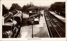 Virginia Water Railway Station by J.& W.Gilbert, Egham & Englefield Green.