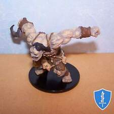 Ogre Brute - Rise of Runelords #34 Pathfinder Battles D&D Miniature
