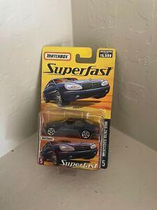Matchbox Mercedes-Benz S500 #5 Superfast 1 of 15,500 X19