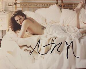 "Angelina Jolie Signed  8"" x 10"" Photograph"