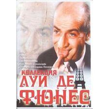 Louis de Funès  COLLECTION   (DVD NTSC) (Russian sound)  6  MOVIES