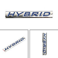 1Pc 3D Hybrid Words Car Emblème Insigne Autocollant Metal Rear Car Trunk Badge A