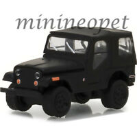 GREENLIGHT 27950 D BLACK BANDIT 1970 JEEP CJ-5 1/64 DIECAST BLACK