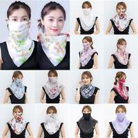 Outdoor  Scarf  Shields  Face Lightweight  Womens Anti-UV  Neck