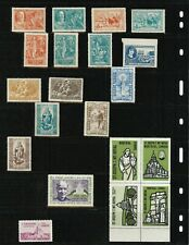 VINTAGE Societe St-Jean-Baptiste - Montreal - Lot of 14 Different Stamps + Other