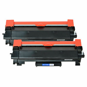 2-Pk/Pack TN760 TN730 Toner Cartidge For Brother HL-L2350DW HL-L2370DW L2550DW